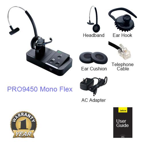 jabra pro 9450 mono flex