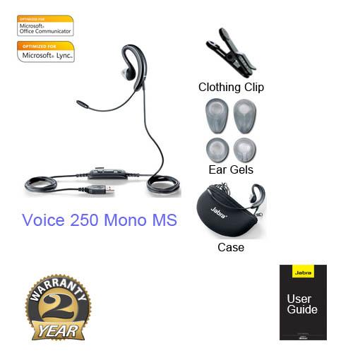 jabra voice 250 mono ms