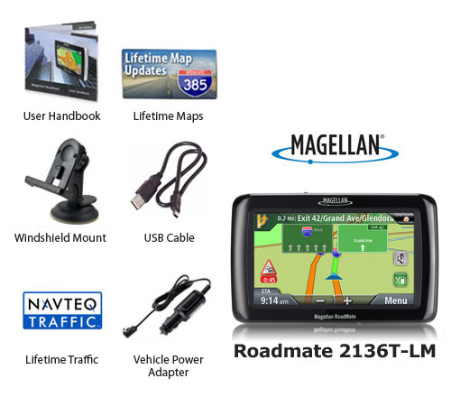 magellan roadmate2136t lm
