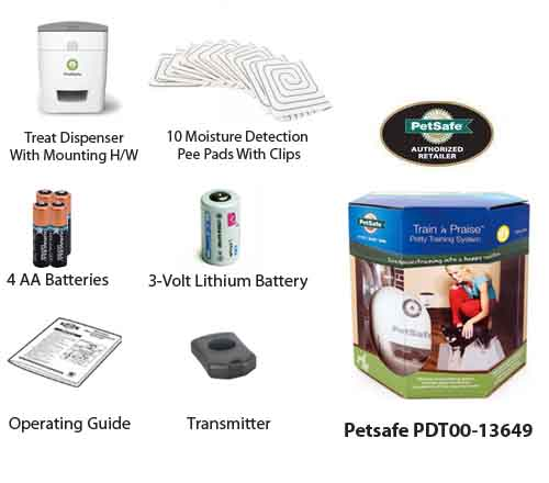 petsafe train and praise potty training system