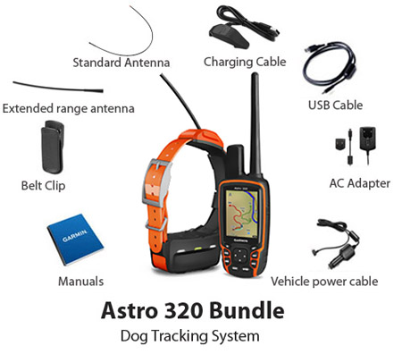 garmin astro bundle w t5