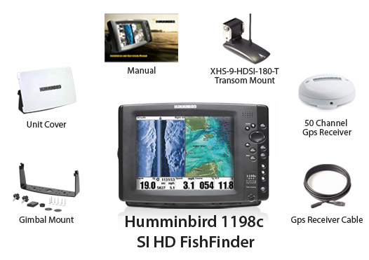 humminbird 1198 c si hd
