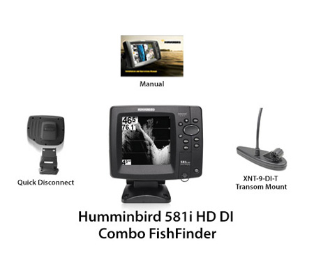 humminbird fishfinder 581i hd di combo