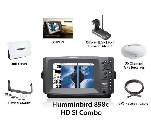 humminbird 898c hd si combo