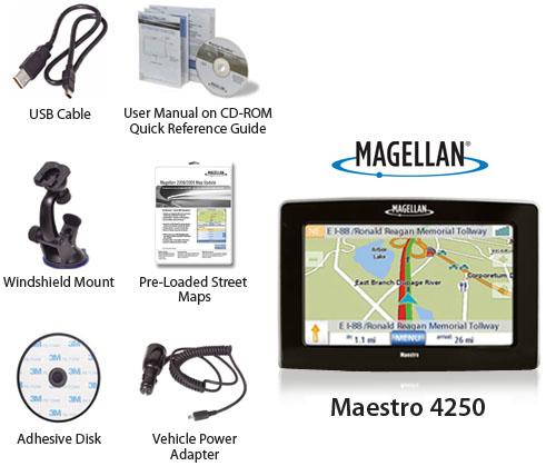 magellan maestro 4250