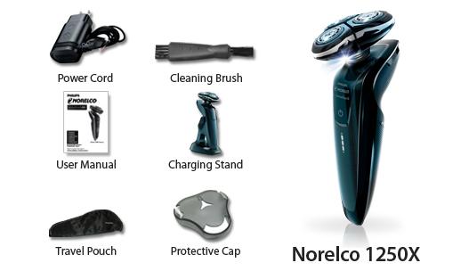 Norelco 1250x Sensotouch 3d Electric Razor Double Blade
