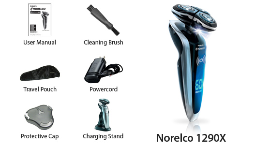 norelco 1290x 8800