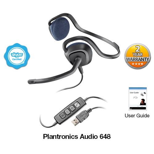 plantronics audio 648