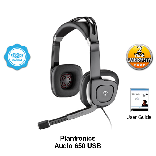 plantronics audio 650 usb