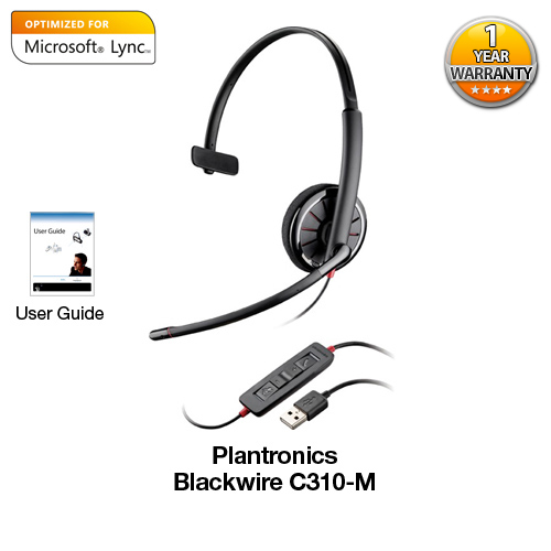 plantronics blackwirec310 m