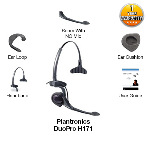 plantronics duopro h171