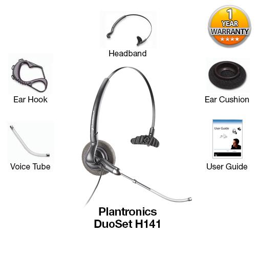 plantronics duoset h141