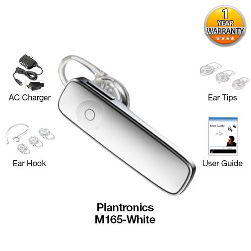 plantronics m165 white