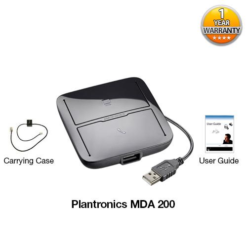 plantronics mda 200