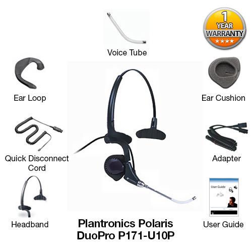 plantronics polaris duopro p171 u10p