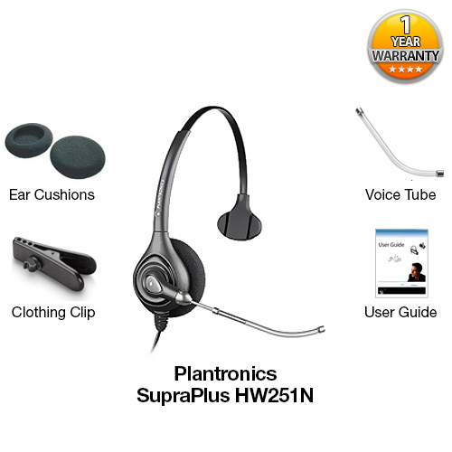 plantronics supraplus hw251n