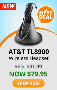 ATT TL8900 Wireless Headset