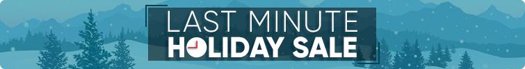 Last Minute Holiday Sale