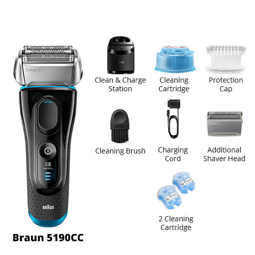 braun 5190cc essential package
