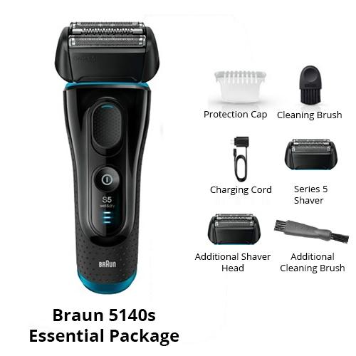 braun 5140s essential package