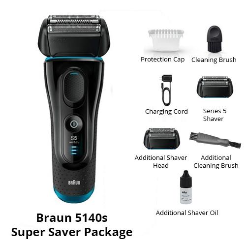 braun 5140s super saver package