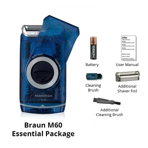 braun m60 essential package