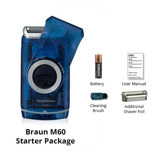 braun m60 starter package