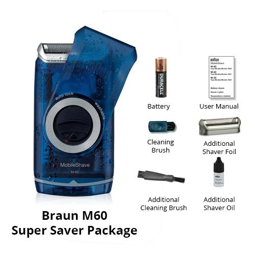 braun m60 super saver package