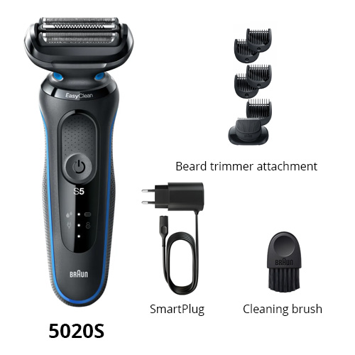 braun 5020s wet and dry shaver
