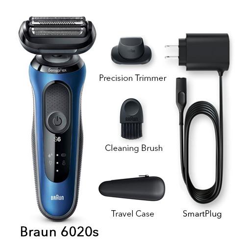 braun 6020s mens electric foil shaver