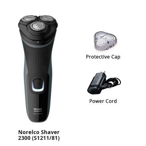 norelco shaver 2300 s1211 81