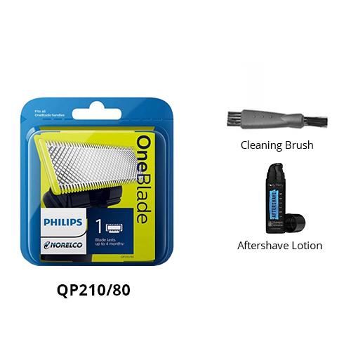 norelco qp210 80 grooming bundle