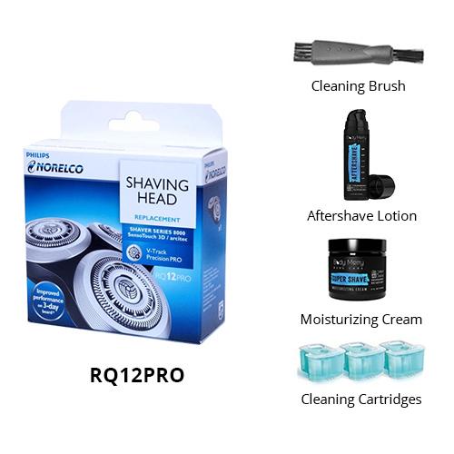norelco rq12pro shaving bundle