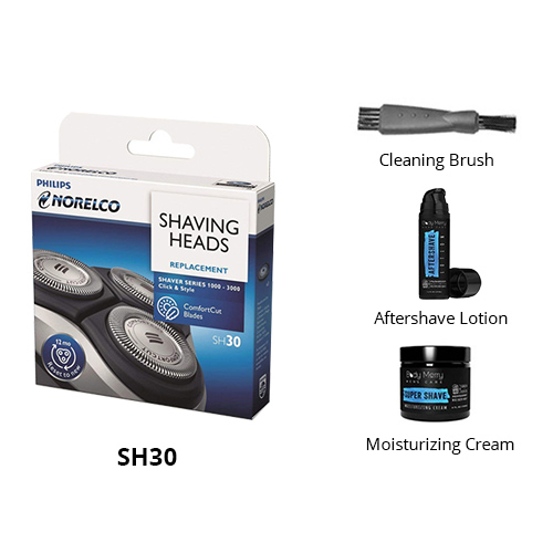 norelco sh30 essential bundle