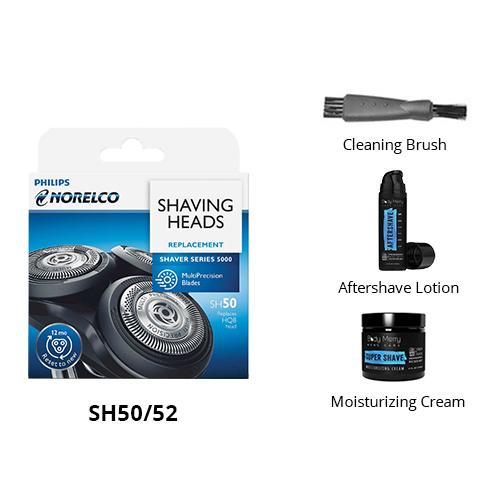 norelco sh50 52 grooming bundle