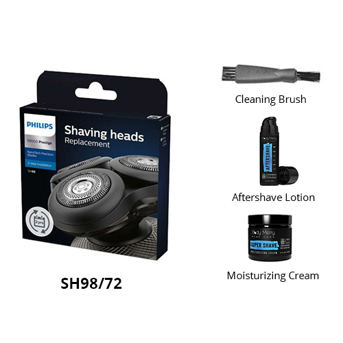 norelco sh98 72 essential bundle