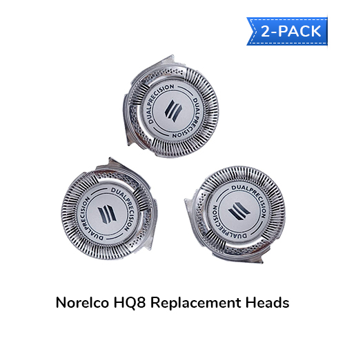 norelco hq8 2 pack