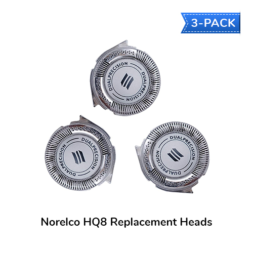 norelco hq8 3 pack
