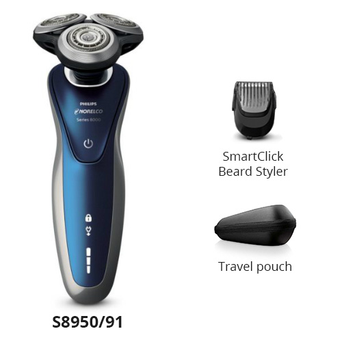 norelco shaver 8900 s8950 91
