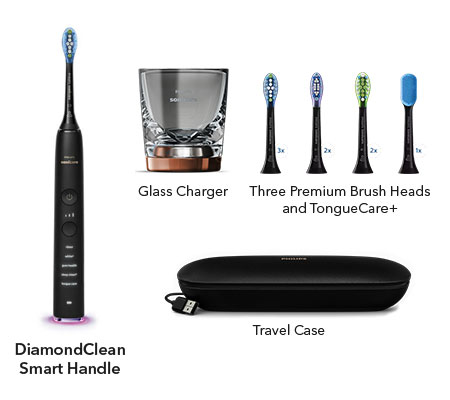 sonicare diamondclean smart lunar blue hx9957/51