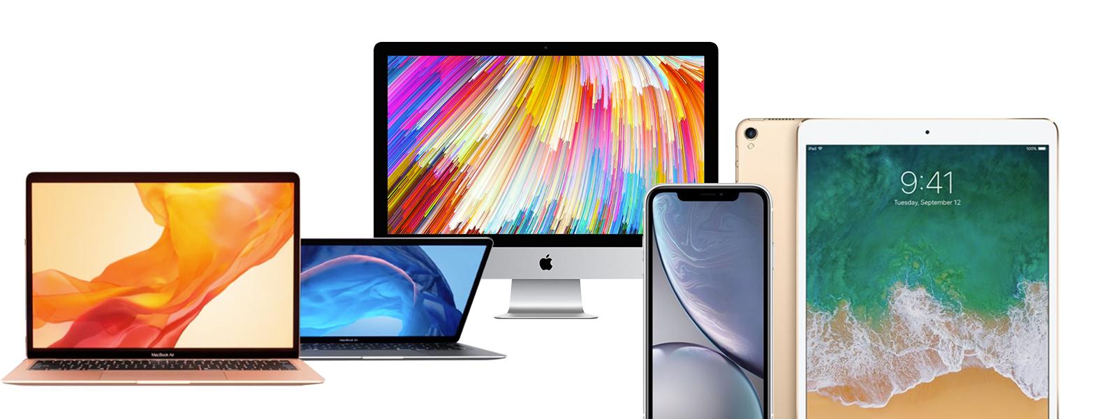 Wide range of Refurbished Apple products