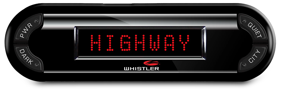 Whistler PRO-3700 Laser Radar Detector