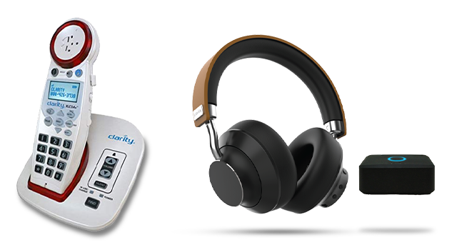 Clarity Amplified Phone & Headsets