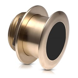 "Product # 010-11010-21 <br/> <ul> <li>Bronze Thru-Hull Mount Transducer (8-Pin)</li> <li><span class=""blackbold"">Provides Depth &amp; Temp Data</span></li> <li>Operating Frequency Of <span class=""blackbold"">50 &amp; 200 kHz</span></li> <li>Mounts On 8-15&deg; Deadrise Angle</li> <li>More Accurate Fish Detection</li> </ul>"
