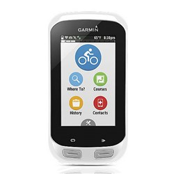 "<ul> <li><span class=""redbold"">Touchscreen</span> GPS-Enabled Cycling Computer</li> <li>On-road or off-road navigation with preloaded Garmin Cycle Map</li>  <li><span class=""redbold"">Incident detection offers automatic or manual alerts to emergency contacts</span></li> <li>Battery Life: Up to 15 Hours per Charge</li>  <li>Compatible w/ Heart Rate Monitor</li> <li>Compatible w/ Speed/Cadence Sensor</li> <li><span class=""blackbold"">Virtual Partner&reg;</span></li> <li>Advanced Workouts</li> <li>Pace Alert</li> <li><span class=""bluebold"">Interval Training</span></li> <li>Customizable Screen</li> <li><span class=""redbold"">Barometric Altimeter</span></li> </ul>"
