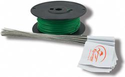 "<ul> <li><span class=""blackbold"">SportDOG Boundary Wire</span></li> <li><span class=""bluebold"">Adds up to ¼ Acre of Coverage</span></li> <li>Includes Waterproof Wire Splices</li> <li>Works with PetSafe Standard &amp; Deluxe Radio Fences</li> <li>Designed for SDF-100A In-Ground Fence System</li> </ul>"