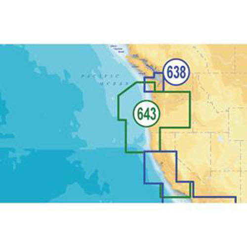 navionics platinum plus oregon and california