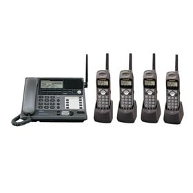 panasonic kx tg4000b plus 4 kx tga400b