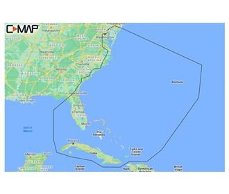 c map m na y203 ms reveal chesapeake bay to bahamas coastal chart