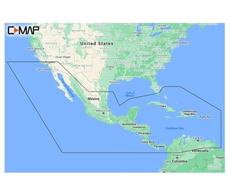 c map m na y205 ms reveal central america and caribbean coastal chart